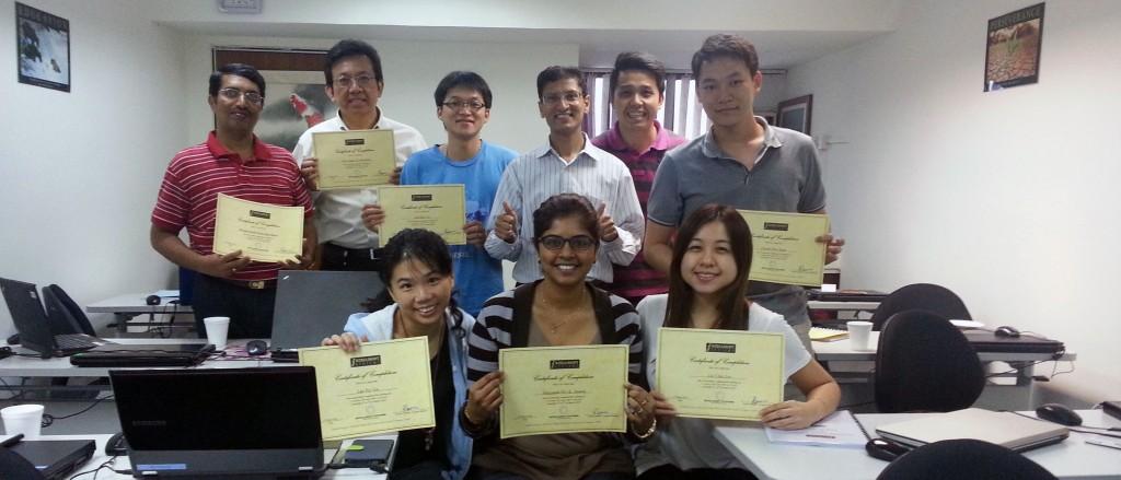 Vinai conducts Data Interpretation Workshop in Singapore